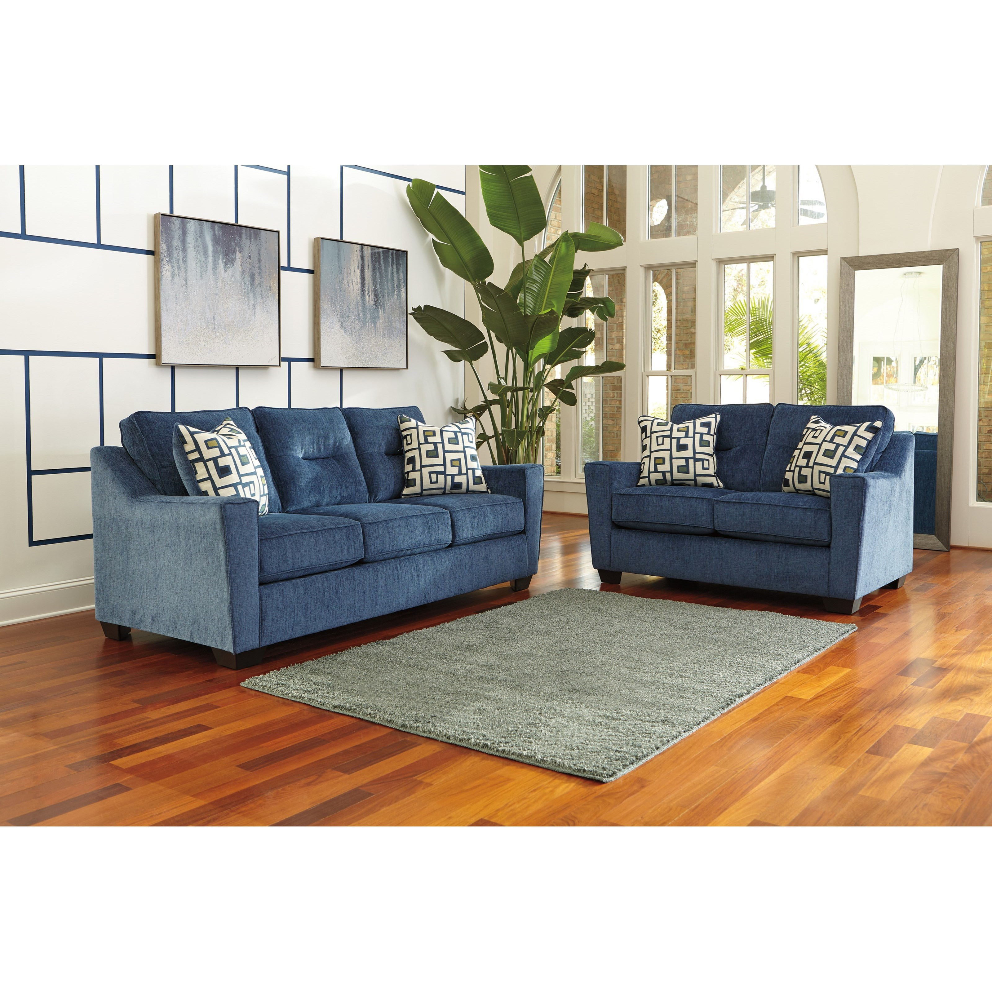 Ashley Furniture Cerdic Stationary Living Room Group
