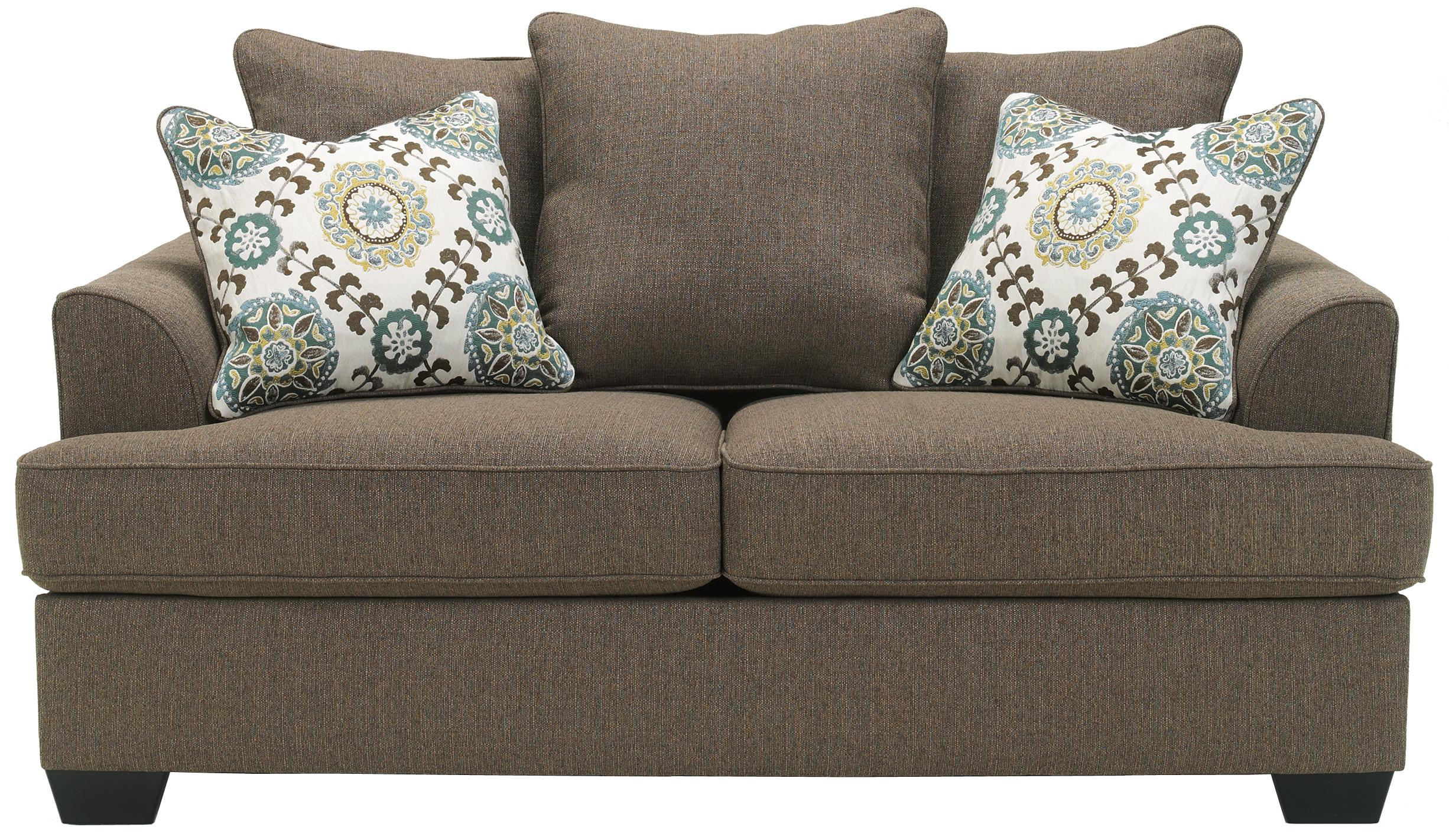 Ashley Furniture Corley - Slate Loveseat - Item Number: 2880035