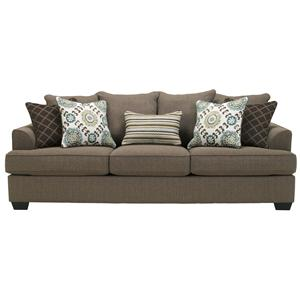 Ashley furniture corley slate sofa for Furniture xchange new jersey