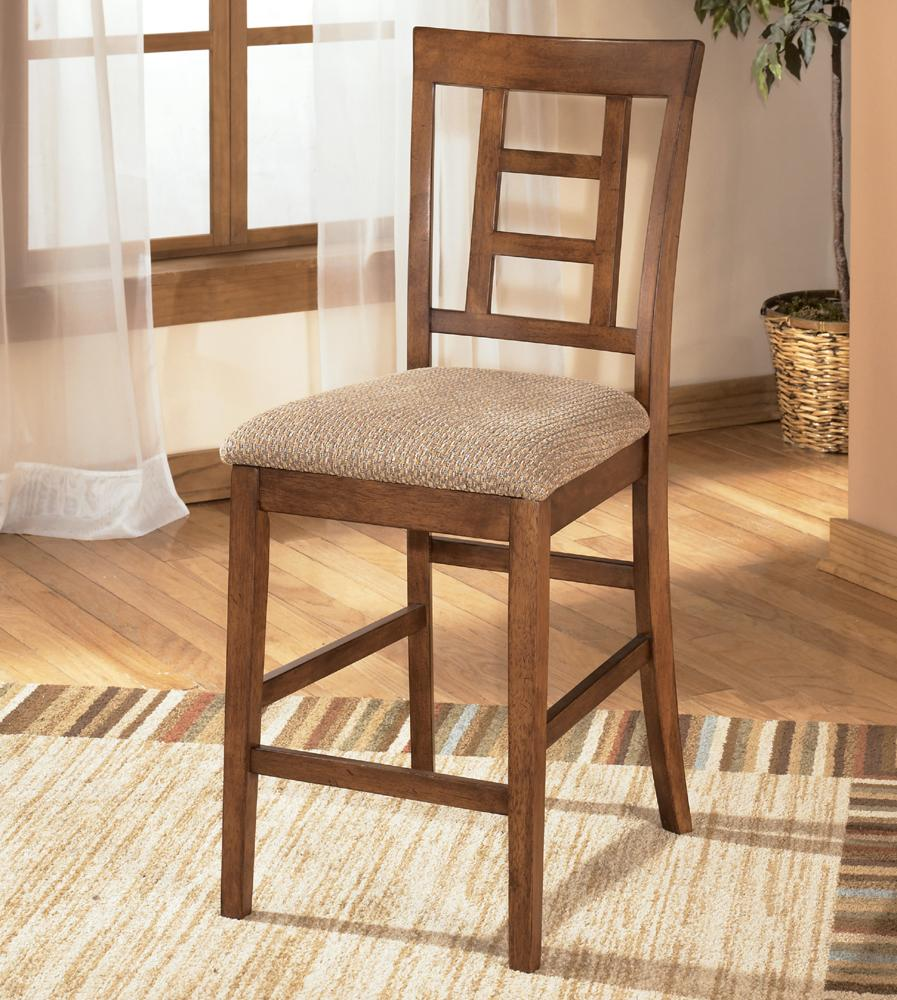 "Ashley Furniture Cross Island 24"" Bar Stool - Item Number: D319-324"