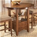 Ashley Furniture Cross Island Counter Height Ext Table - Item Number: D319-42