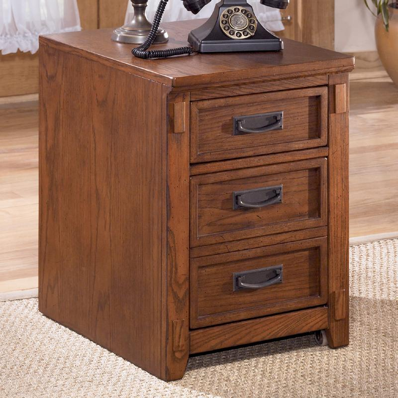 Ashley Furniture Cross Island 2 Drawer Mobile File Cabinet - Item Number: H319-12