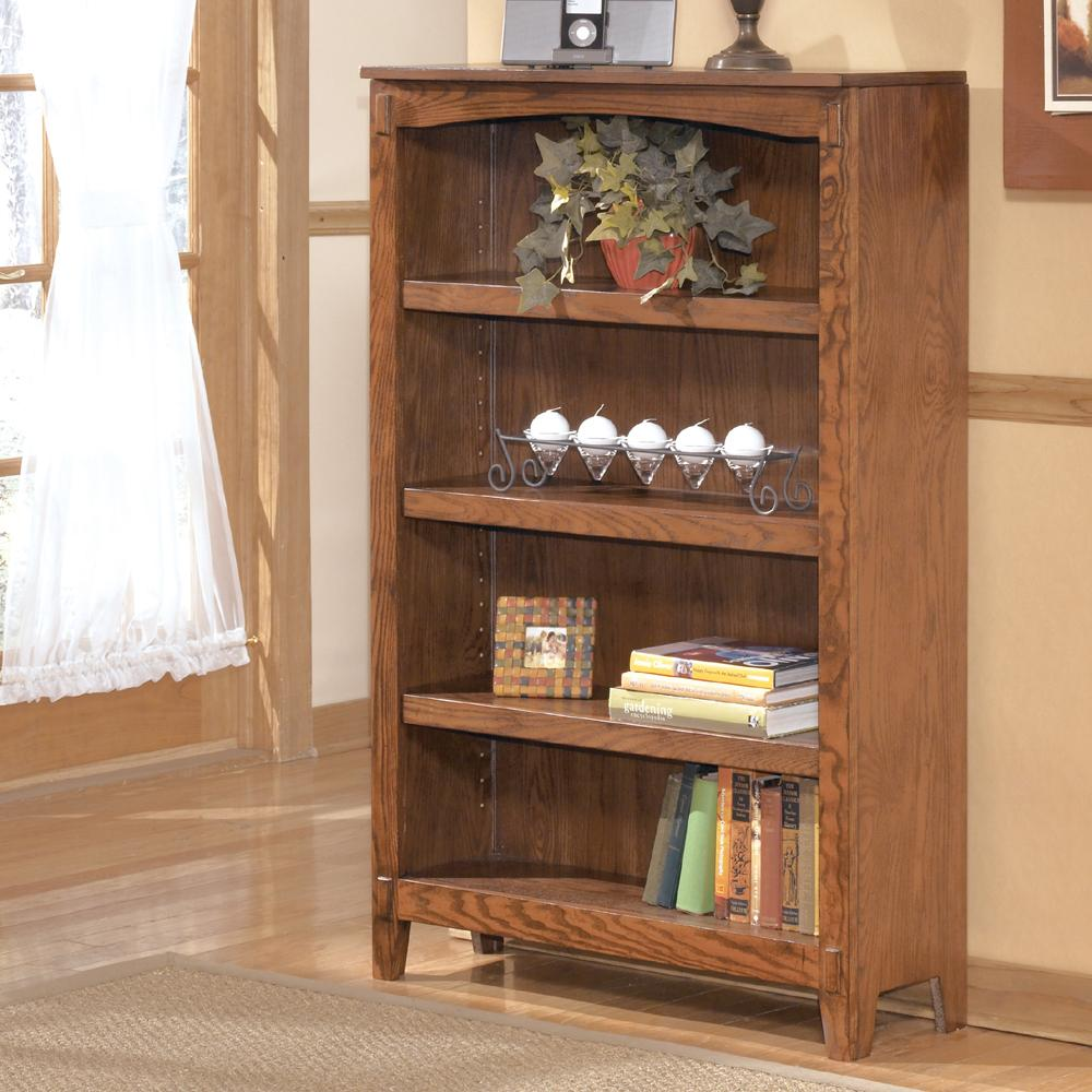Ashley Furniture Cross Island Medium Bookcase - Item Number: H319-16