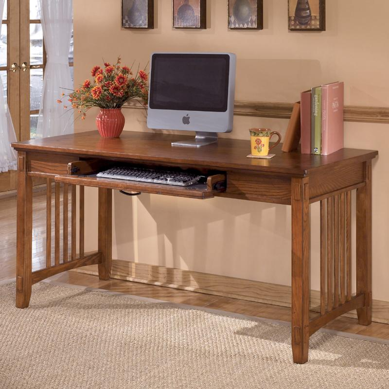 Ashley Furniture Cross Island Large Leg Desk - Item Number: H319-44