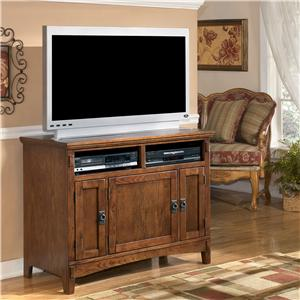 Burgis Design Cross Island 42 Inch TV Stand