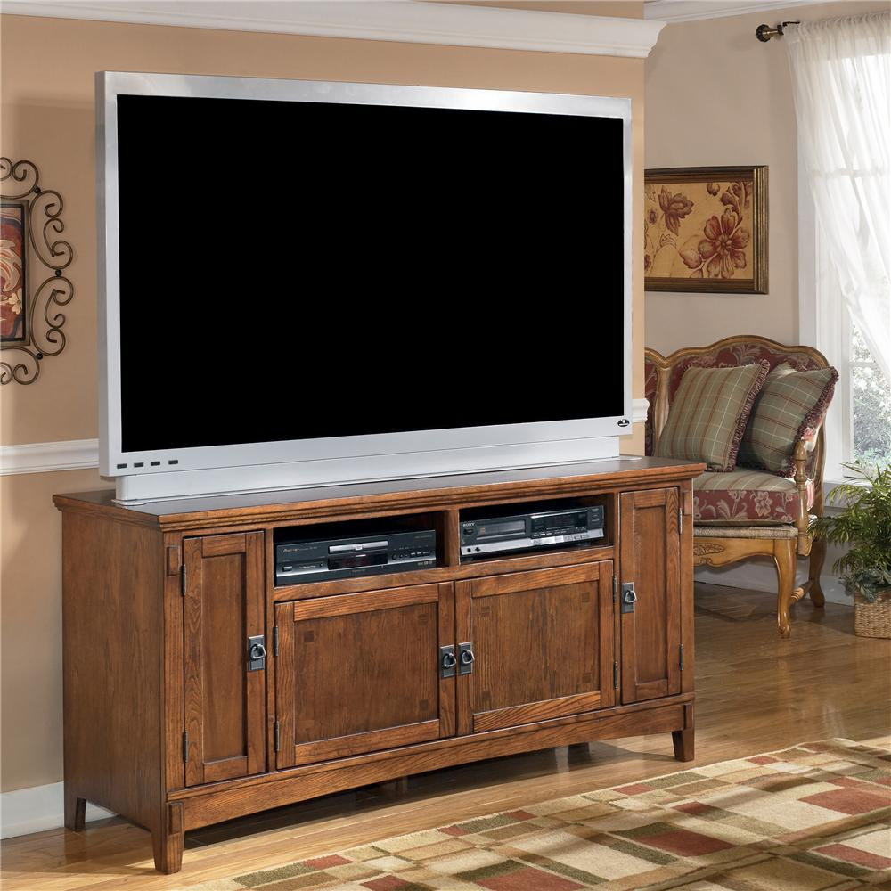 Ashley Furniture Cross Island 60 Inch TV Stand - Item Number: W319-38