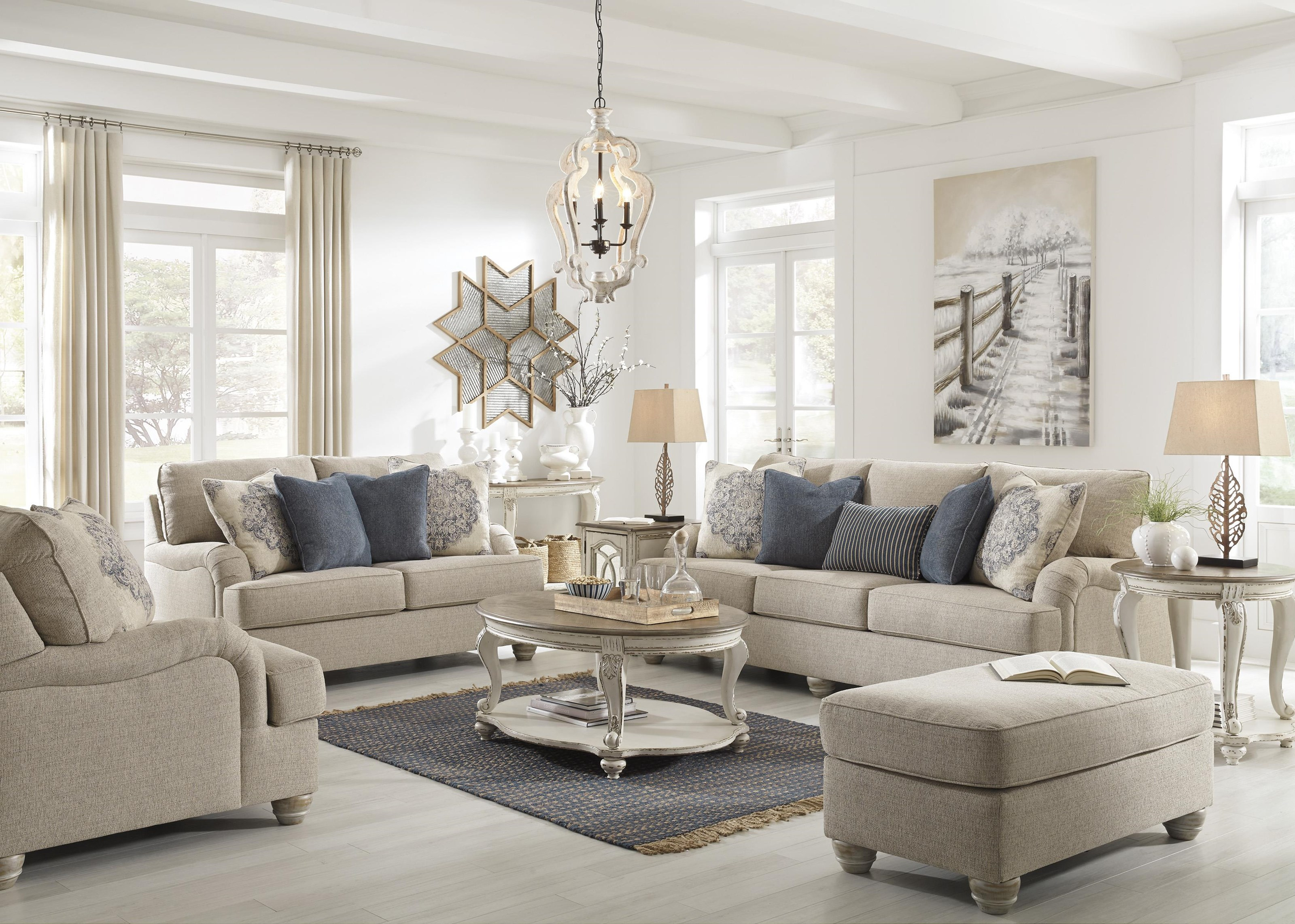 Dandrea Sofa, Chair and Ottoman Set