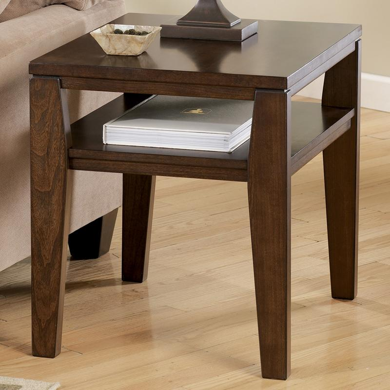 Signature Design by Ashley Deagan Rectangular End Table - Item Number: T334-3