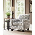 Ashley Furniture Farouh Accent Chair with Quatrefoil Lattice Fabric