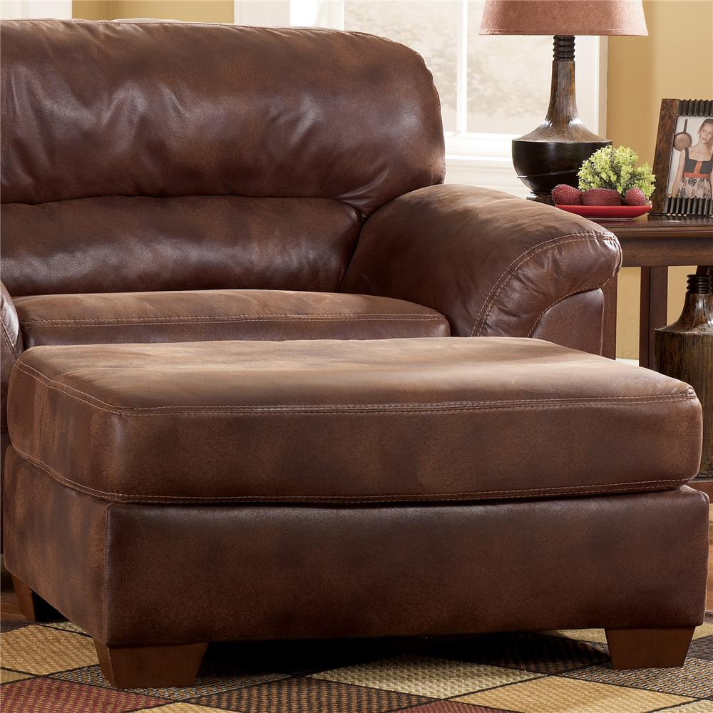 Ashley Furniture Frontier - Canyon  Upholstered Ottoman - Item Number: 3090014