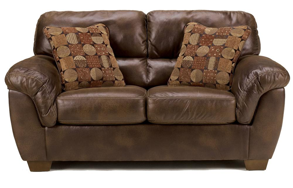 Ashley Furniture Frontier - Canyon Loveseat with Padded Armrests