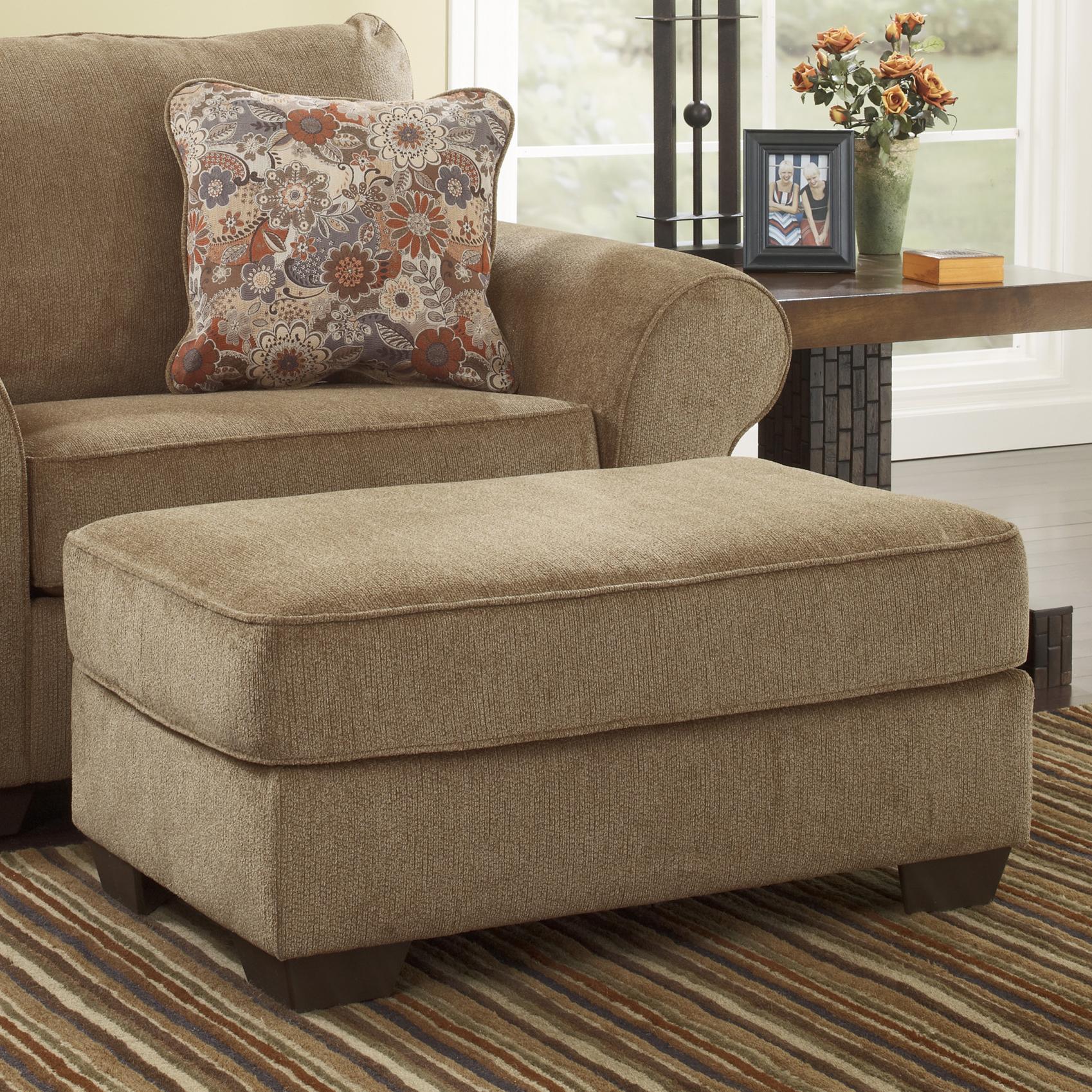 Ashley Furniture Galand - Umber Ottoman - Item Number: 1170014