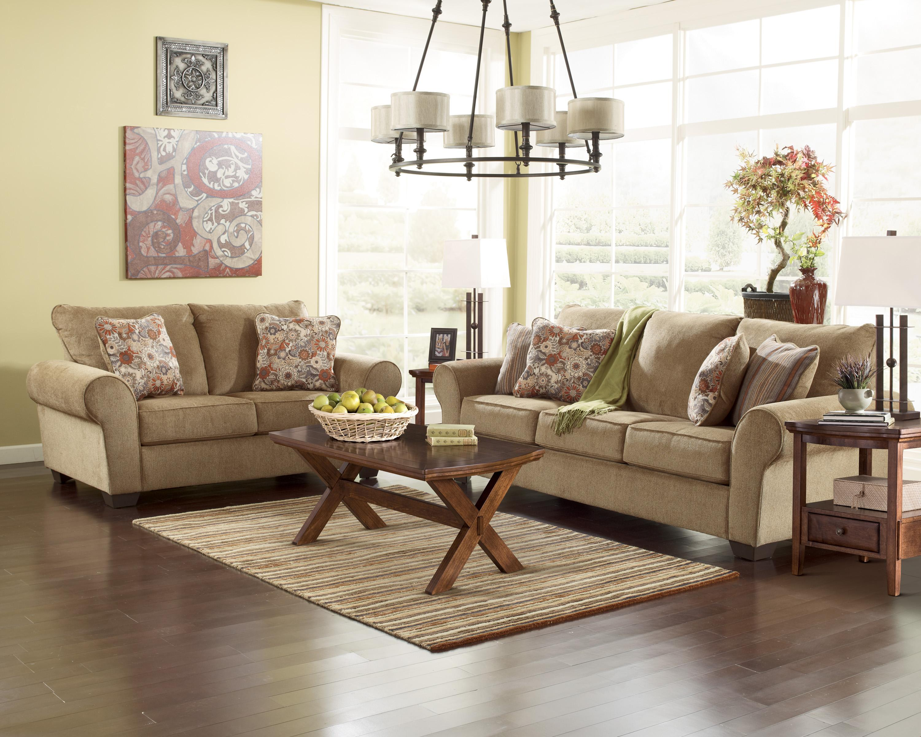 Ashley Furniture Galand Umber 1170038 Sofa With Rolled Arms Gill Brothers Furniture Sofas