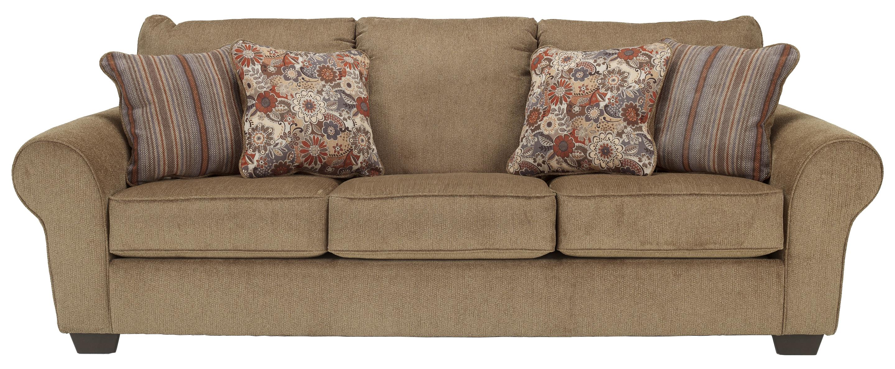 Ashley Furniture Galand - Umber Queen Sofa Sleeper - Item Number: 1170039
