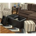 Ashley Furniture Geordie - Cafe Ottoman With Storage - Item Number: 2350011