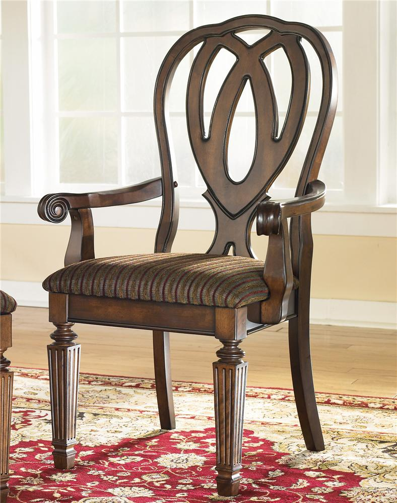 Signature Design by Ashley Hamlyn Arm Chair - Item Number: D527-01A