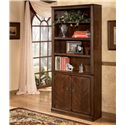Signature Design by Ashley Hamlyn Large Door Bookcase - Item Number: H527-18