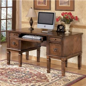 Signature Design by Ashley Furniture Hamlyn Storage Leg Desk