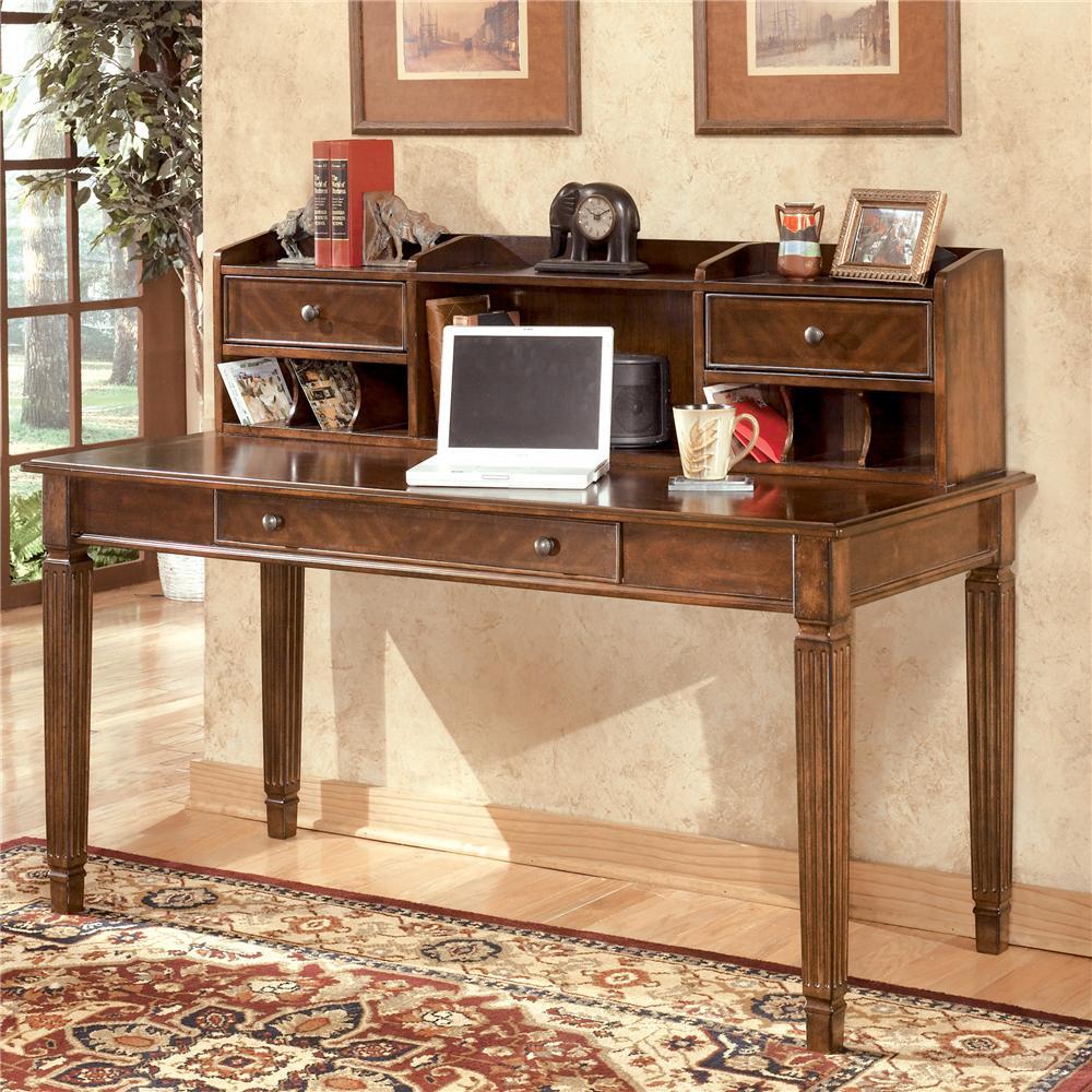 Ashley Furniture Office Desk: Signature Design By Ashley Hamlyn Large Leg Table Desk