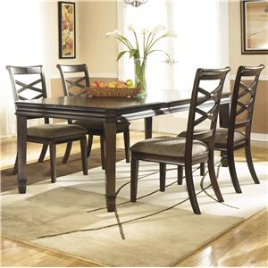 Signature Design by Ashley Furniture Hayley 5 Piece Dining Set
