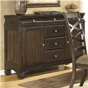 Ashley Furniture Hayley Buffet - Item Number: D480-80