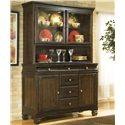 Ashley Furniture Hayley China Buffet - Item Number: D480-81+80