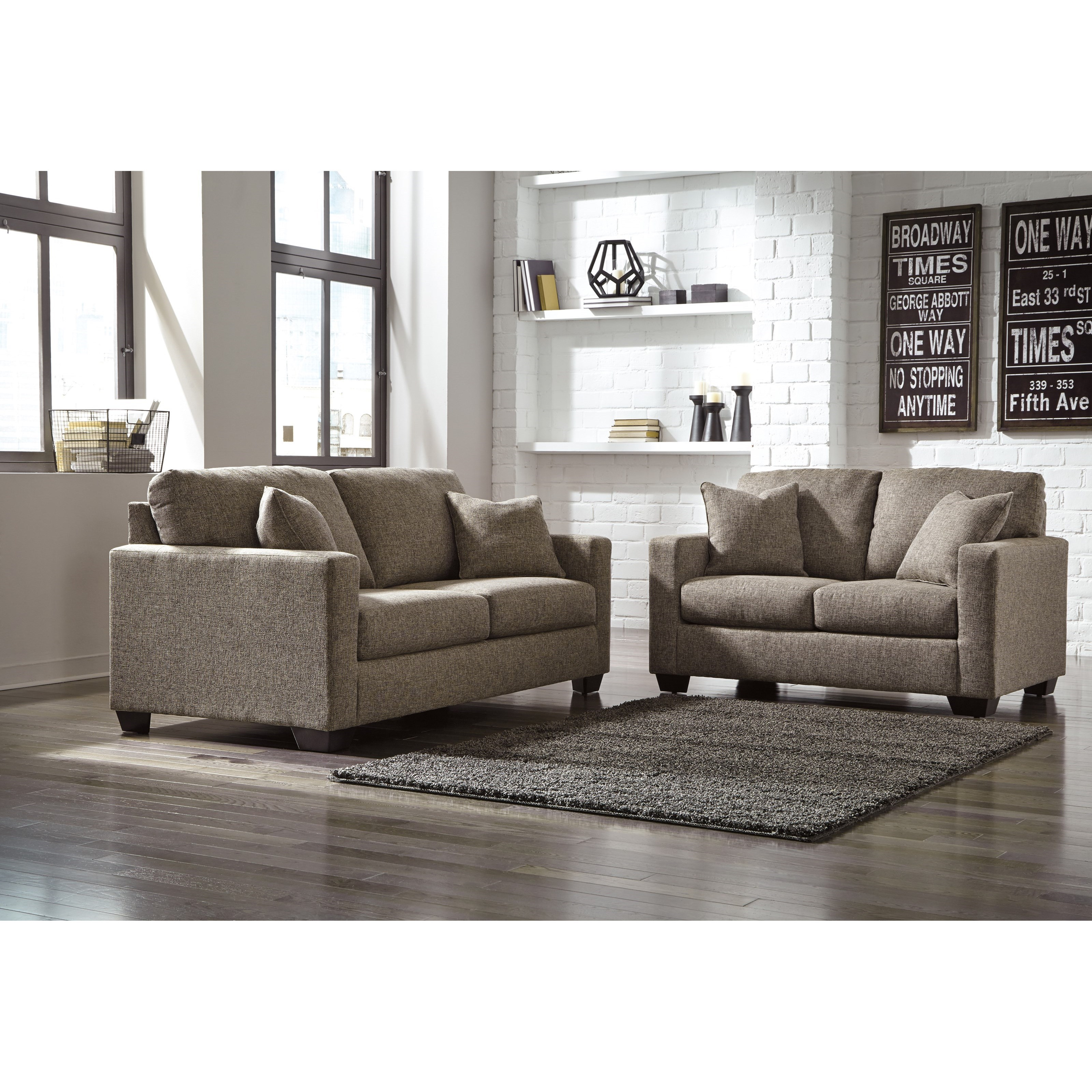 Ashley Furniture Hearne Stationary Living Room Group Del Sol Furniture Stationary Living