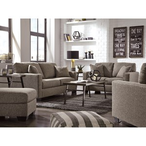 Ashley Furniture Hearne Stationary Living Room Group