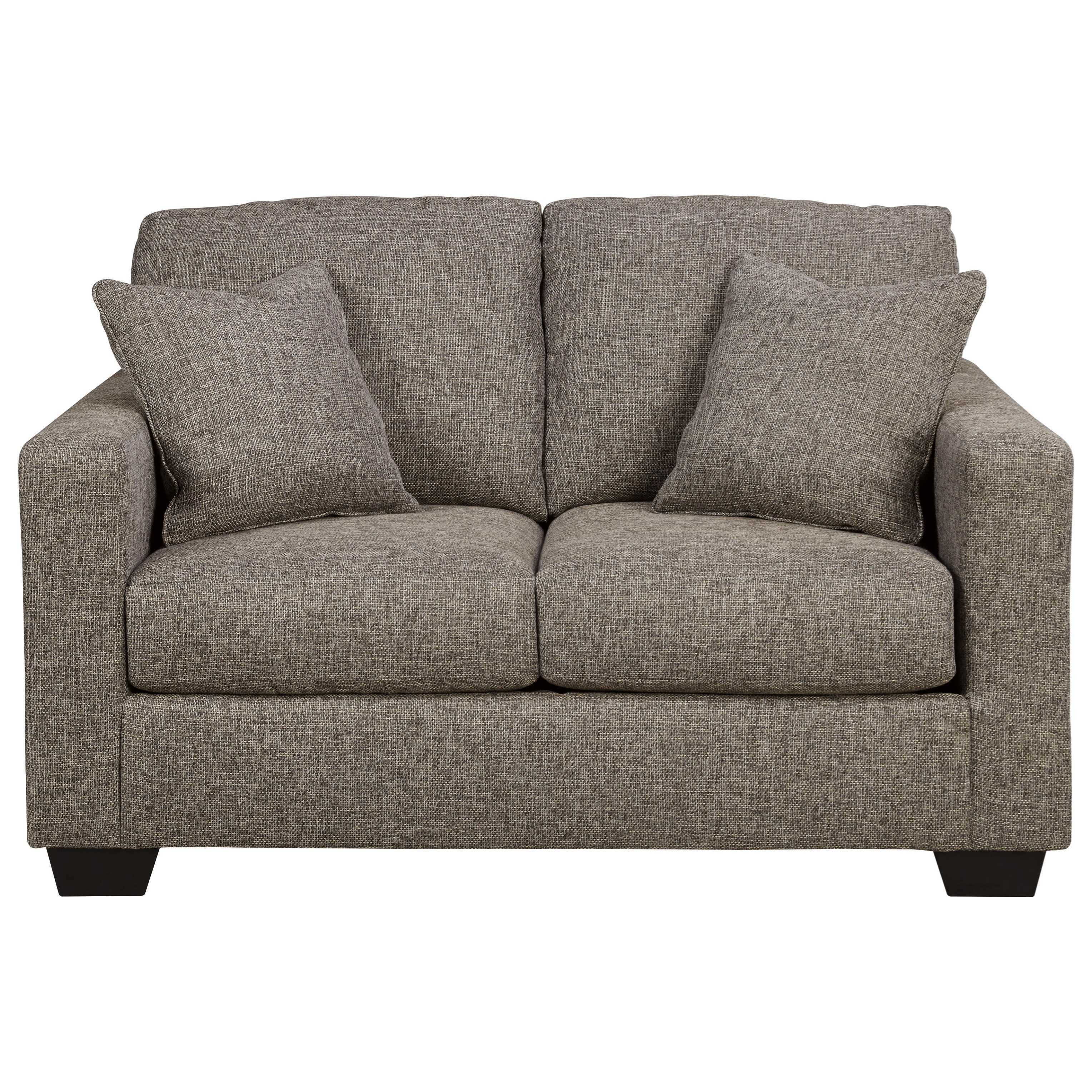 Ashley Furniture Hearne Contemporary Loveseat with Track Arms