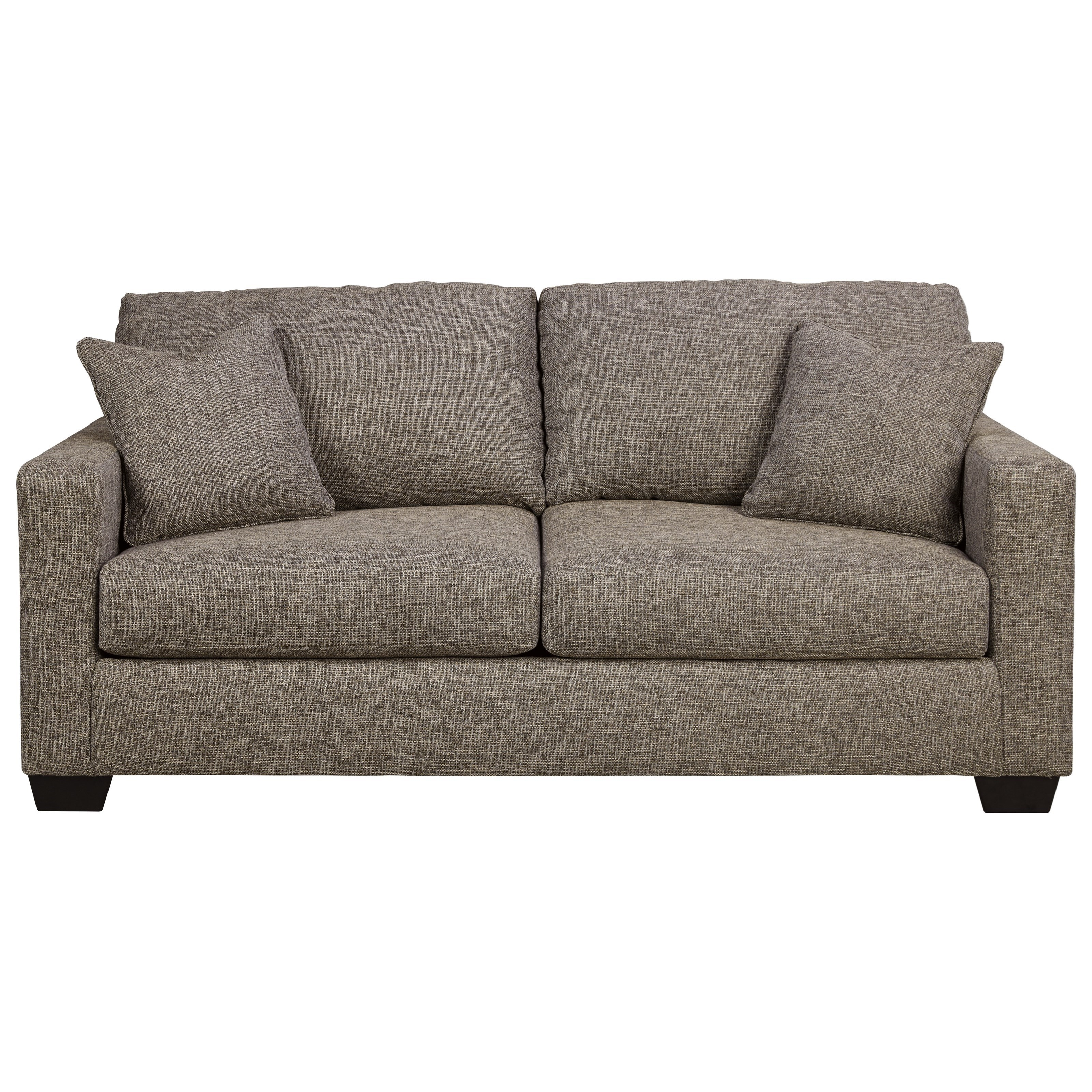 Ashley Furniture Hearne 3200036 Contemporary Full Sofa Sleeper With Track Arms Furniture And