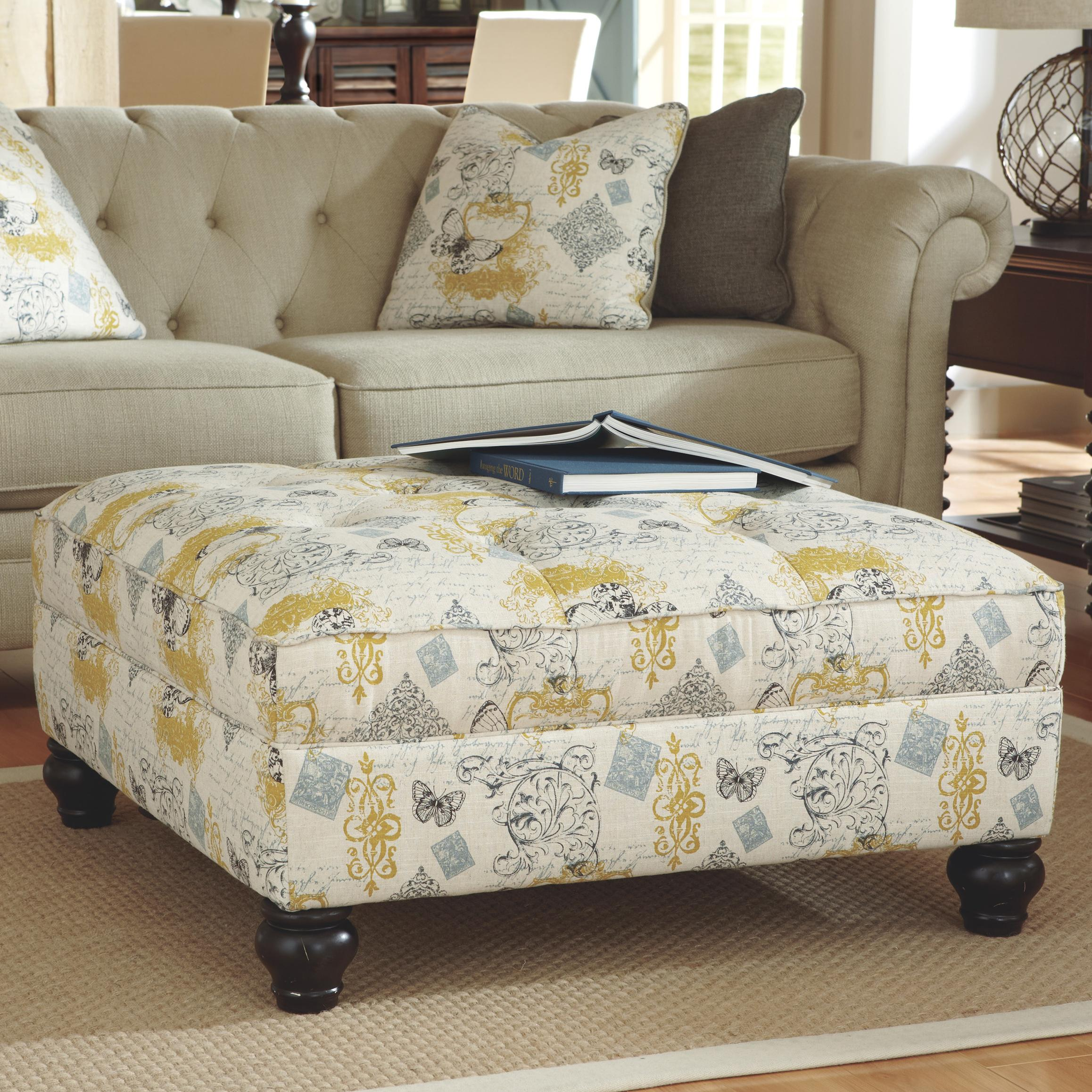 Ashley Furniture Hindell Park Oversized Accent Ottoman - Item Number: 1680408