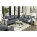 Ashley Furniture Kanosh Sofa and Chair Set - Item Number: 123349905