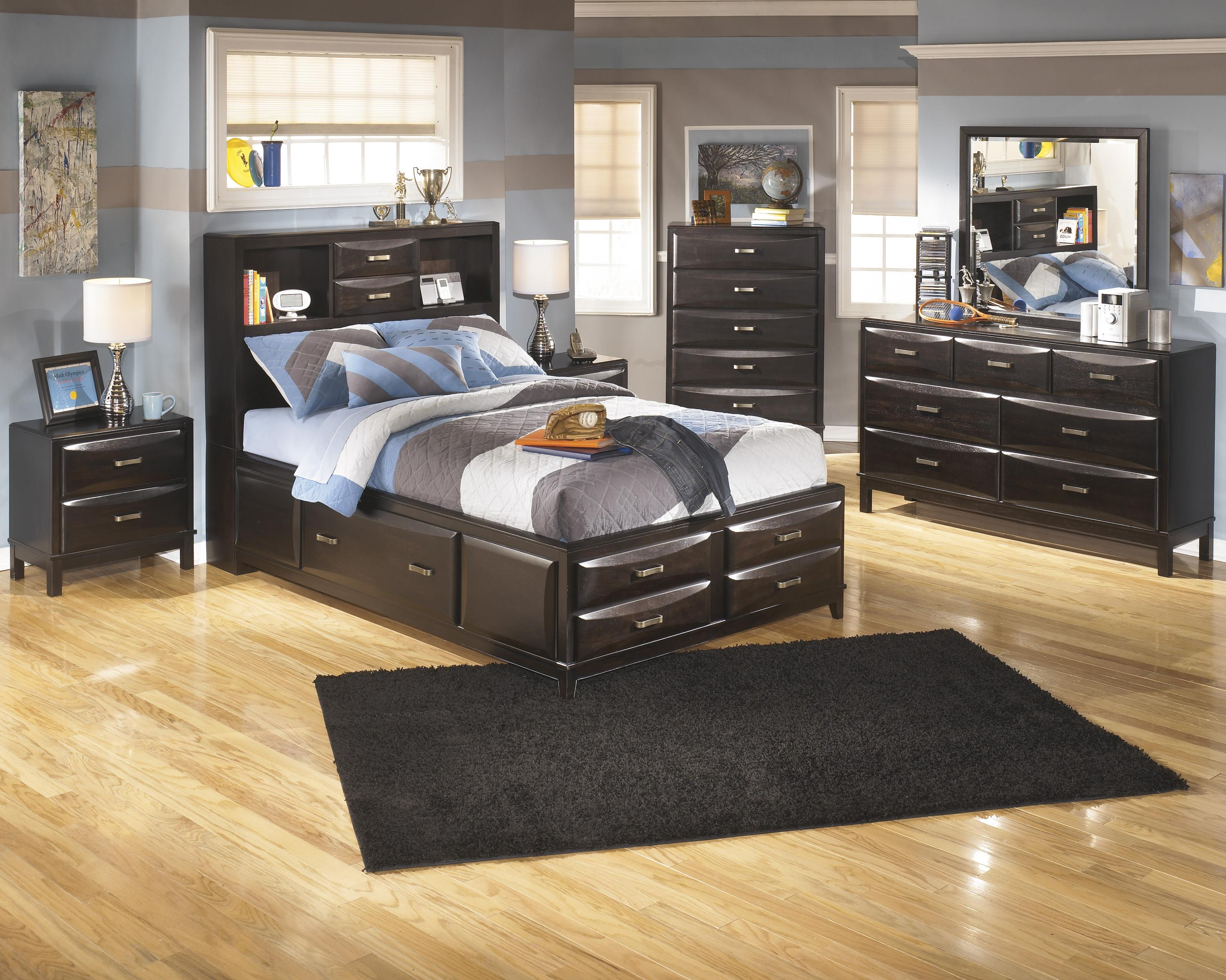 Ashley Furniture Kira Full Bedroom Group - Item Number: B473 F Bedroom Group 1