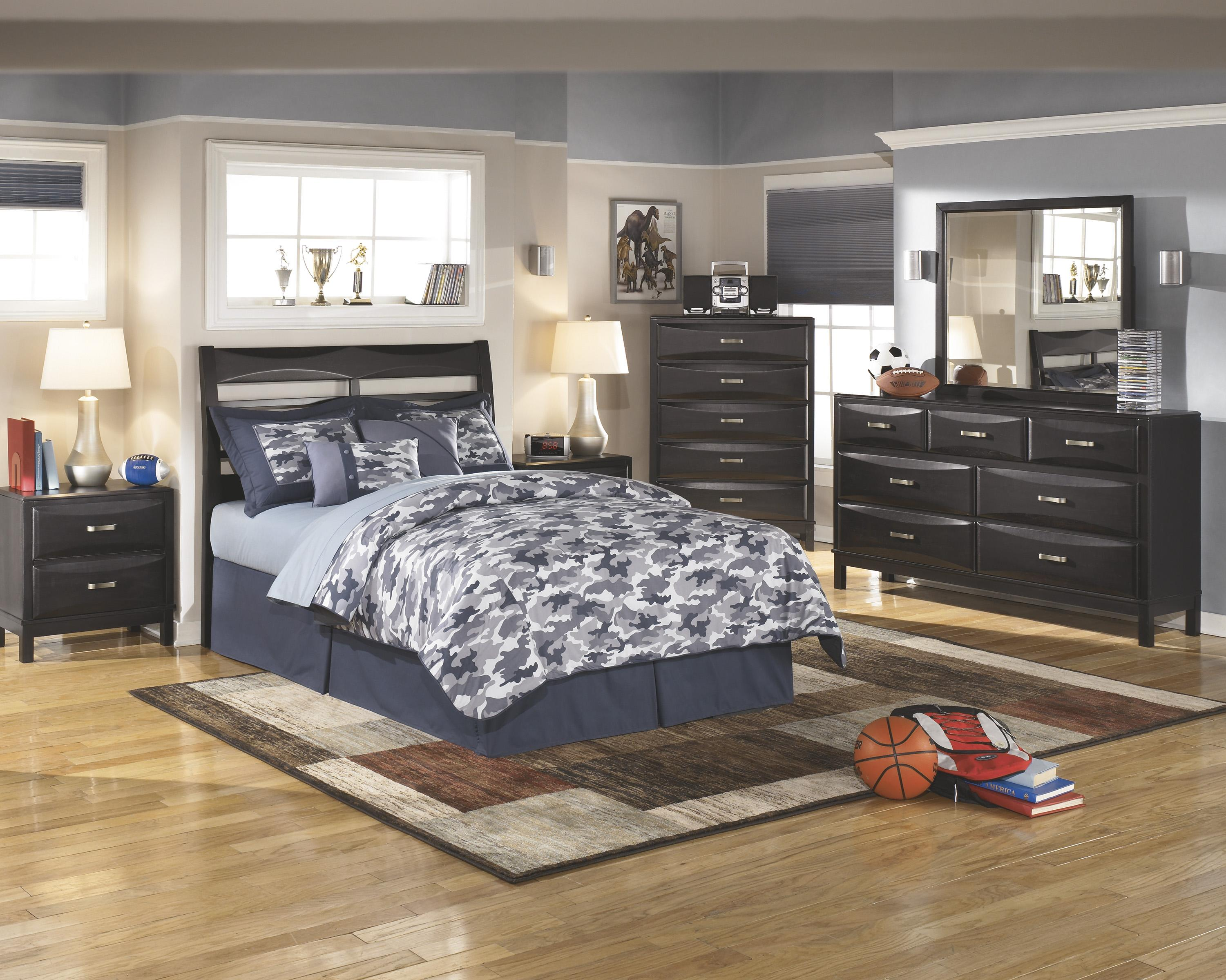 Ashley Furniture Kira Full Bedroom Group - Item Number: B473 F Bedroom Group 2