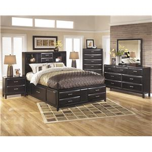 Ashley Furniture Kira California King Bedroom Group