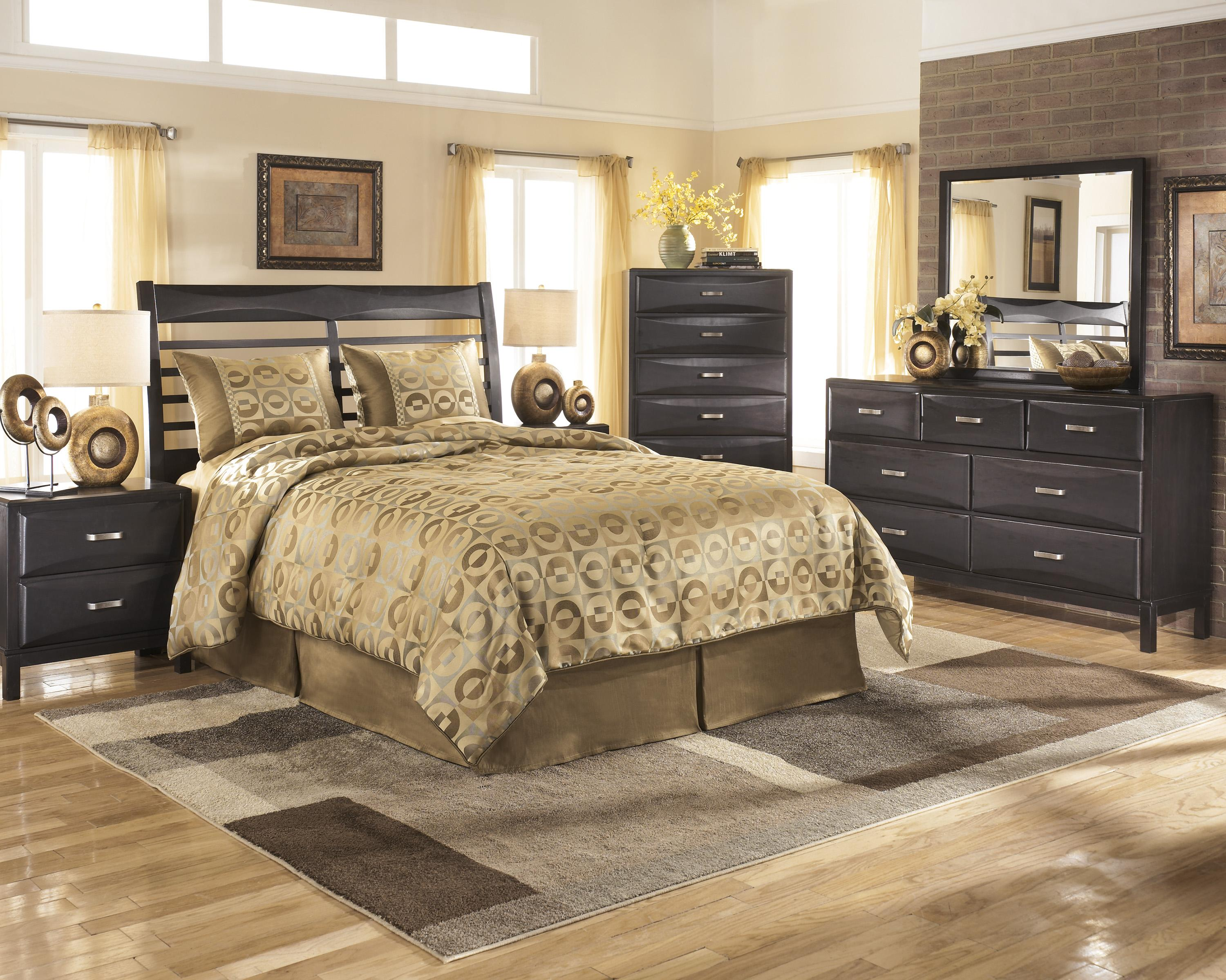 Ashley Furniture Kira Queen Bedroom Group - Item Number: B473 Q Bedroom Group 2