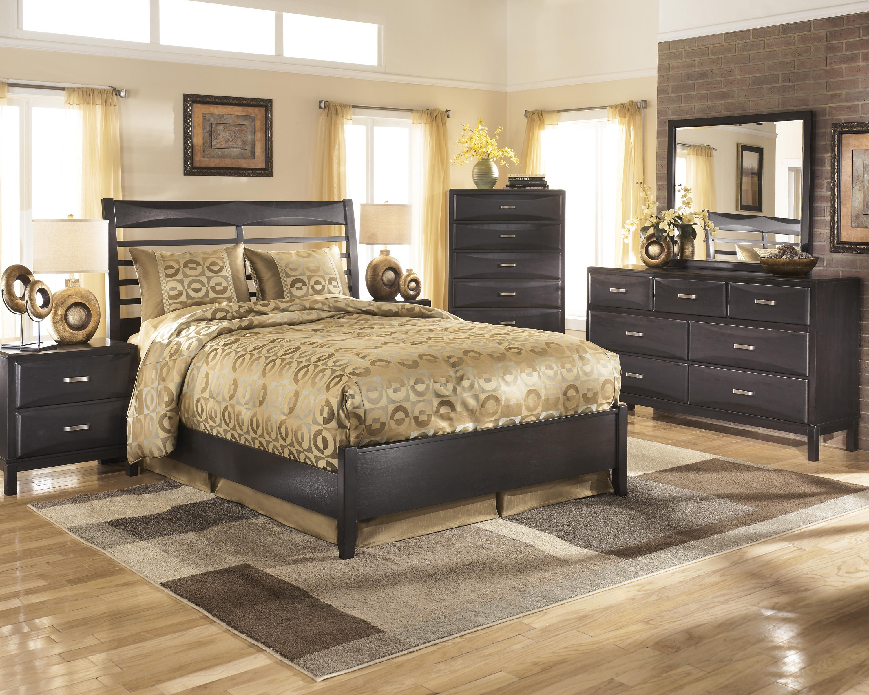 Ashley Furniture Kira Queen Bedroom Group - Item Number: B473 Q Bedroom Group 3