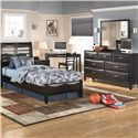Ashley Furniture Kira 7 Drawer Dresser and Mirror Combo
