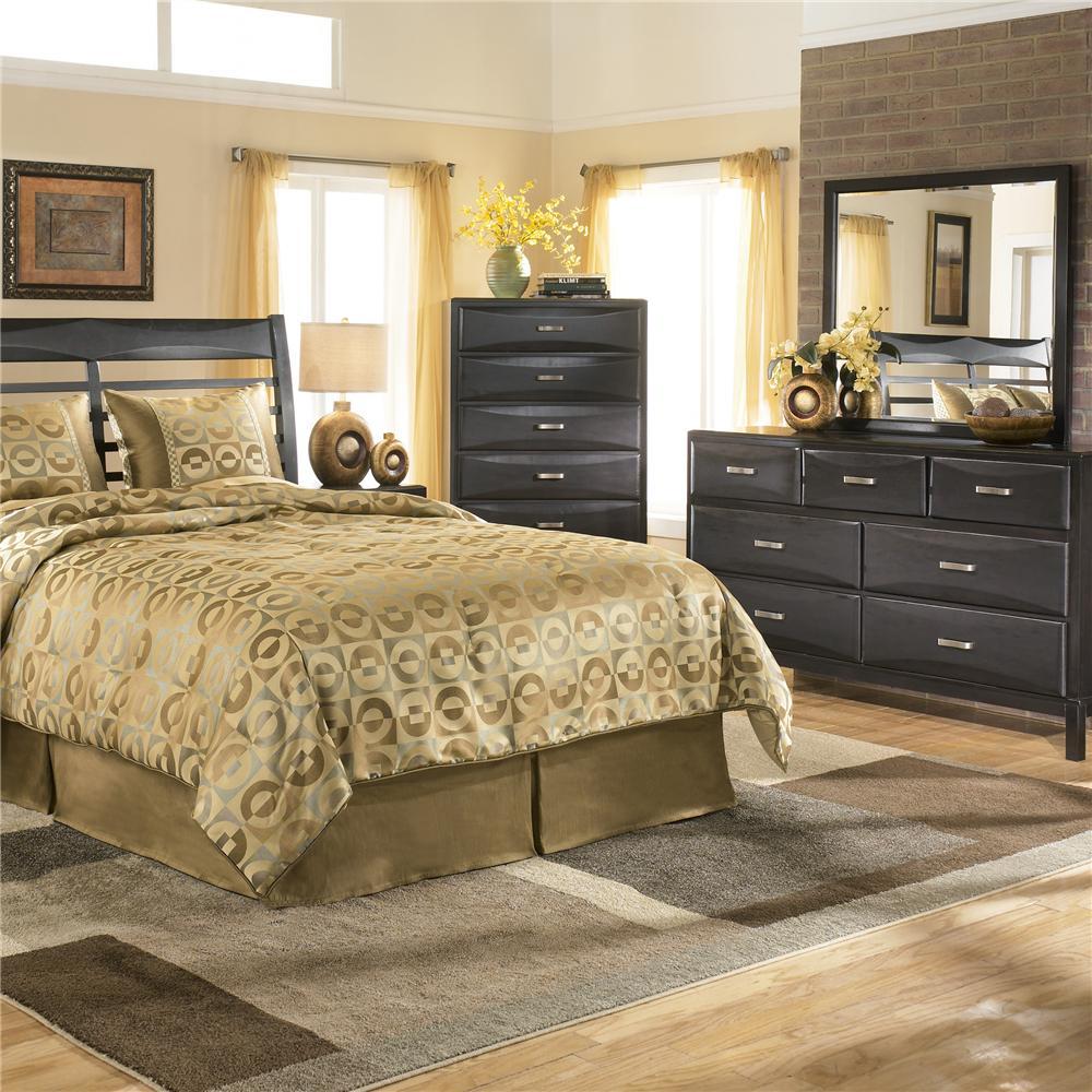 Ashley Furniture Kira 7 Drawer Dresser: Ashley Furniture Kira B473-31 7 Drawer Dresser