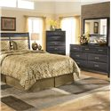 Ashley Furniture Kira Dresser Mirror - B473-36