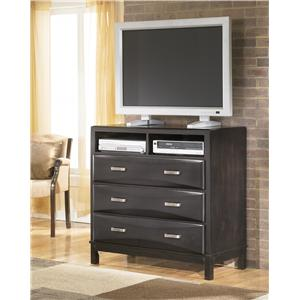 Ashley Furniture Kira Media Chest