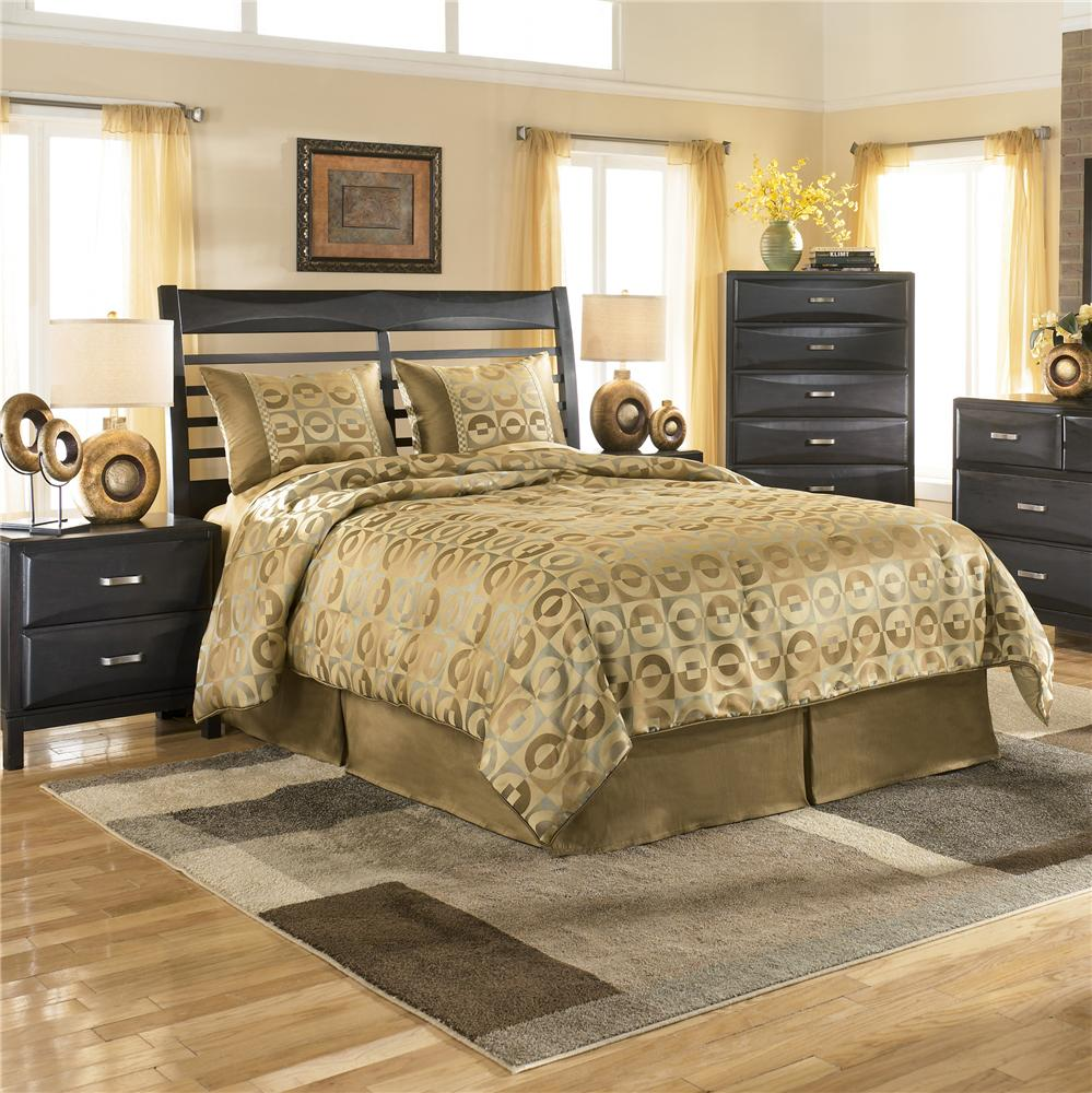 Ashley Furniture Kira Queen Panel Headboard   AHFA   Headboard Dealer  Locator