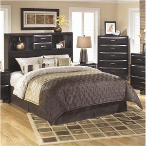 Ashley Furniture Kira Queen Storage Headboard