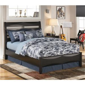 Ashley Furniture Kira Queen Storage Bed Ahfa Captain S