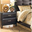Ashley Furniture Kira Night Stand - Item Number: B473-92