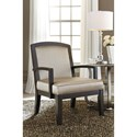 Ashley Furniture Lemoore Accent Chair with Glam Fabric