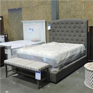 Ashley Furniture Clearance Upholstered Queen Bed