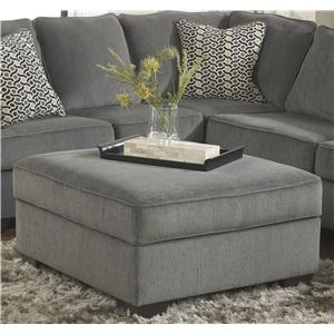 Ashley Furniture Loric - Smoke Ottoman With Storage