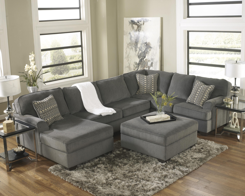 Ashley Furniture Loric Smoke Contemporary 3 Piece