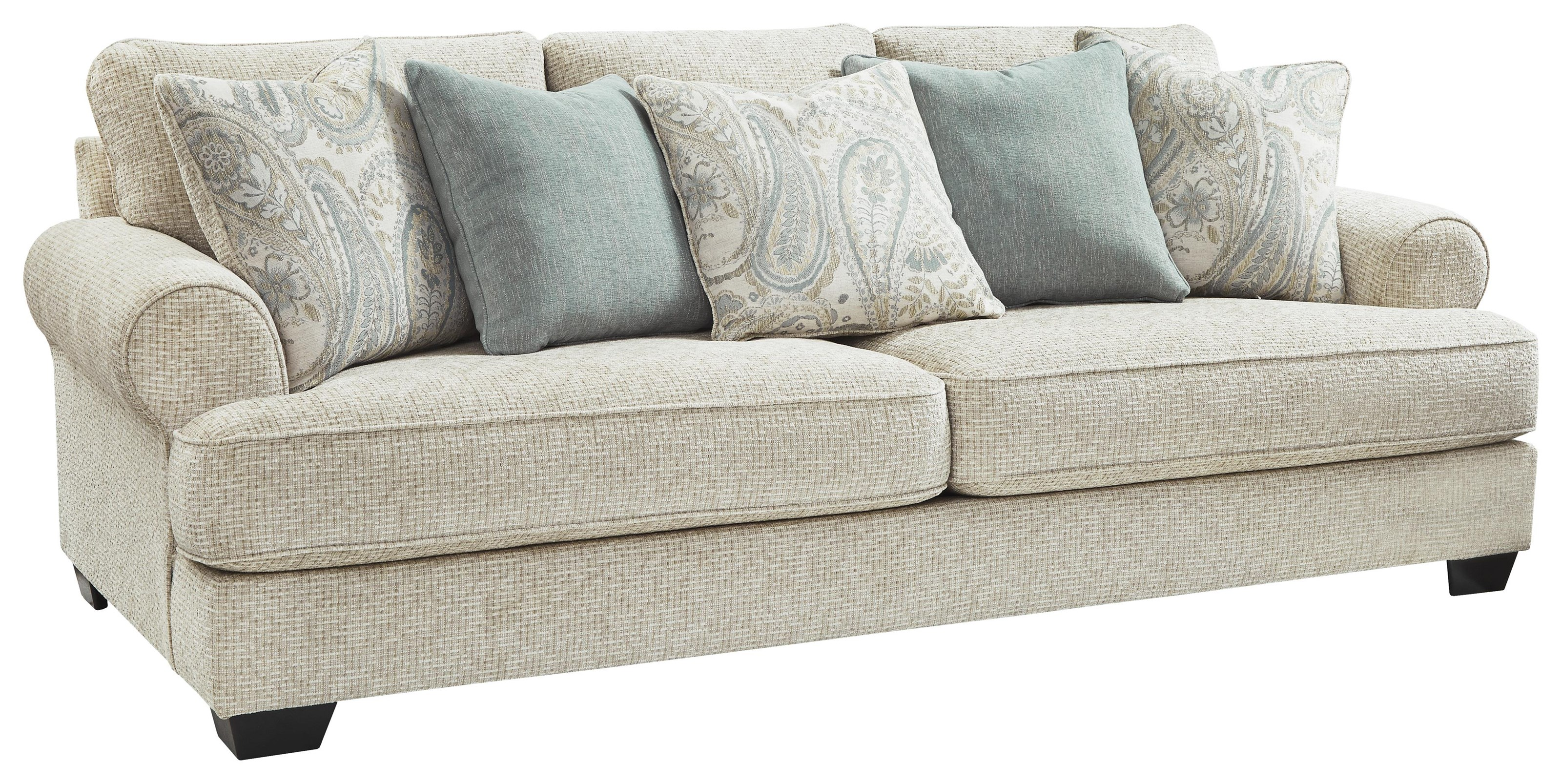 Picture of: Ashley Furniture Monaghan 9620538 Sandstone Sofa Sam Levitz Outlet Sofas